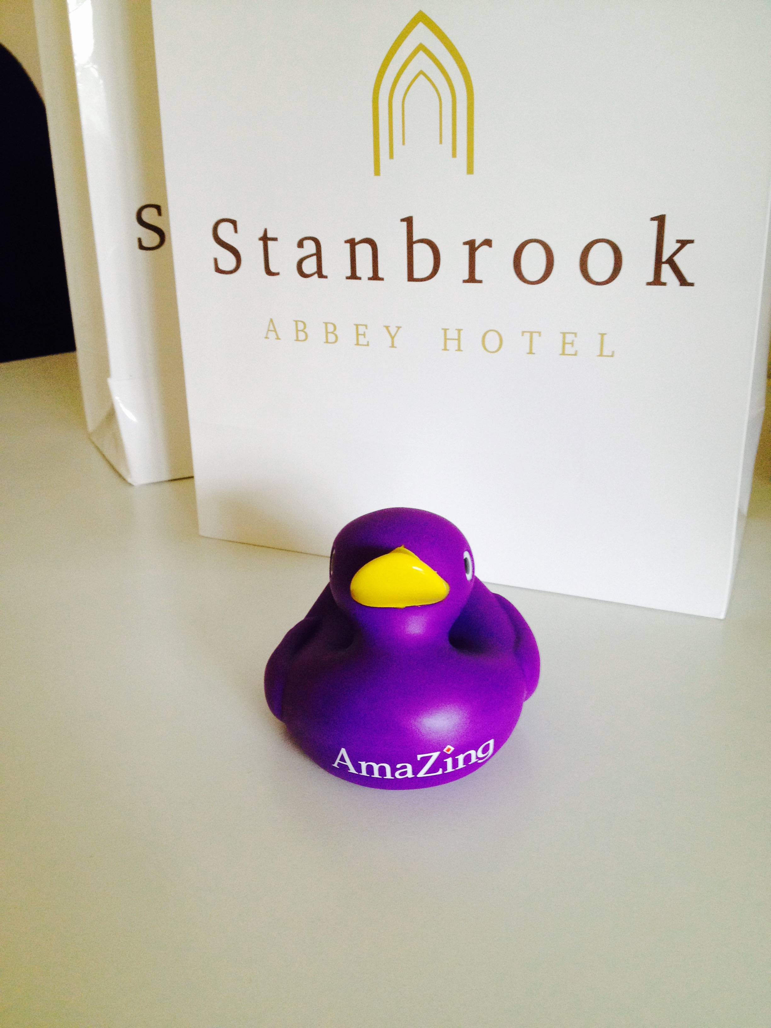 Stanbrook abbey rubber duck