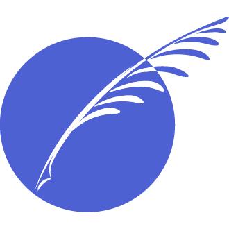 Sue Kelso Ryan quill logo